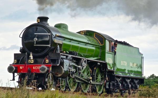 Krása parních vlaků
