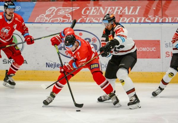 Hokej: HC Olomouc - HC Sparta Praha