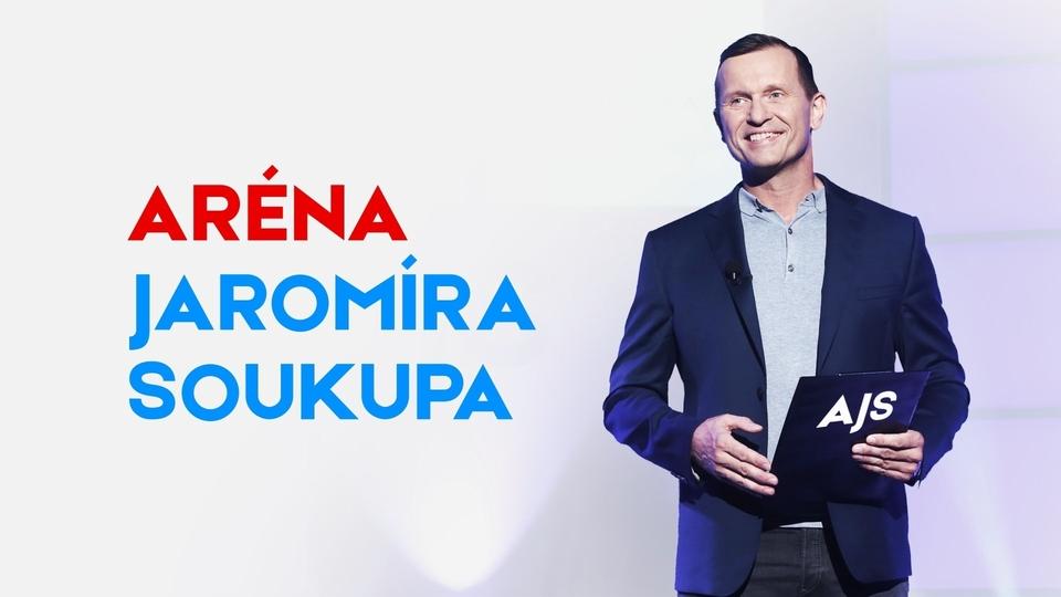 Předvolební Aréna Jaromíra Soukupa