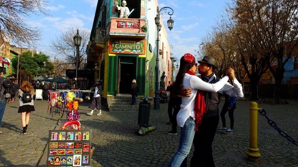 Dokument Buenos Aires, krása v rytmu tanga